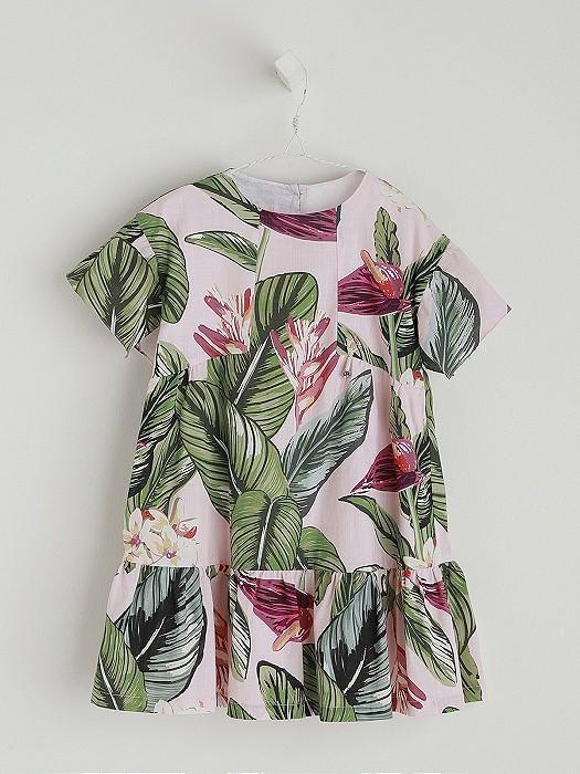 NANOS 夏季花紋洋裝