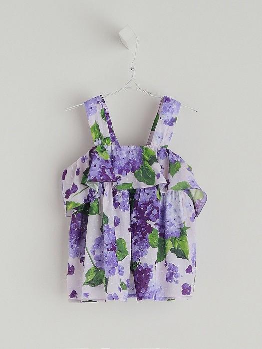 NANOS 紫花上衣