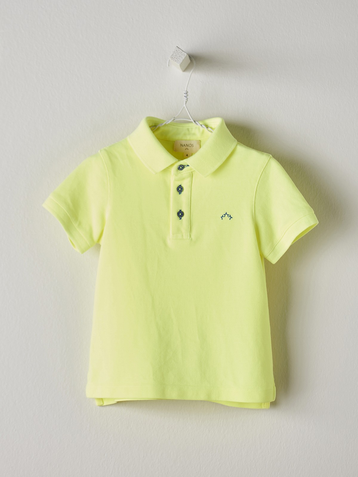 NANOS 黃色POLO衫-BABY
