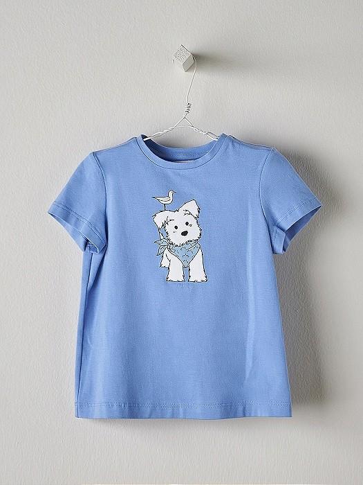 NANOS 藍色狗狗上衣