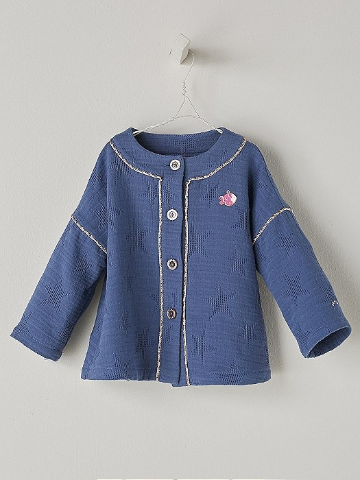 NANOS 藍色薄棉外套