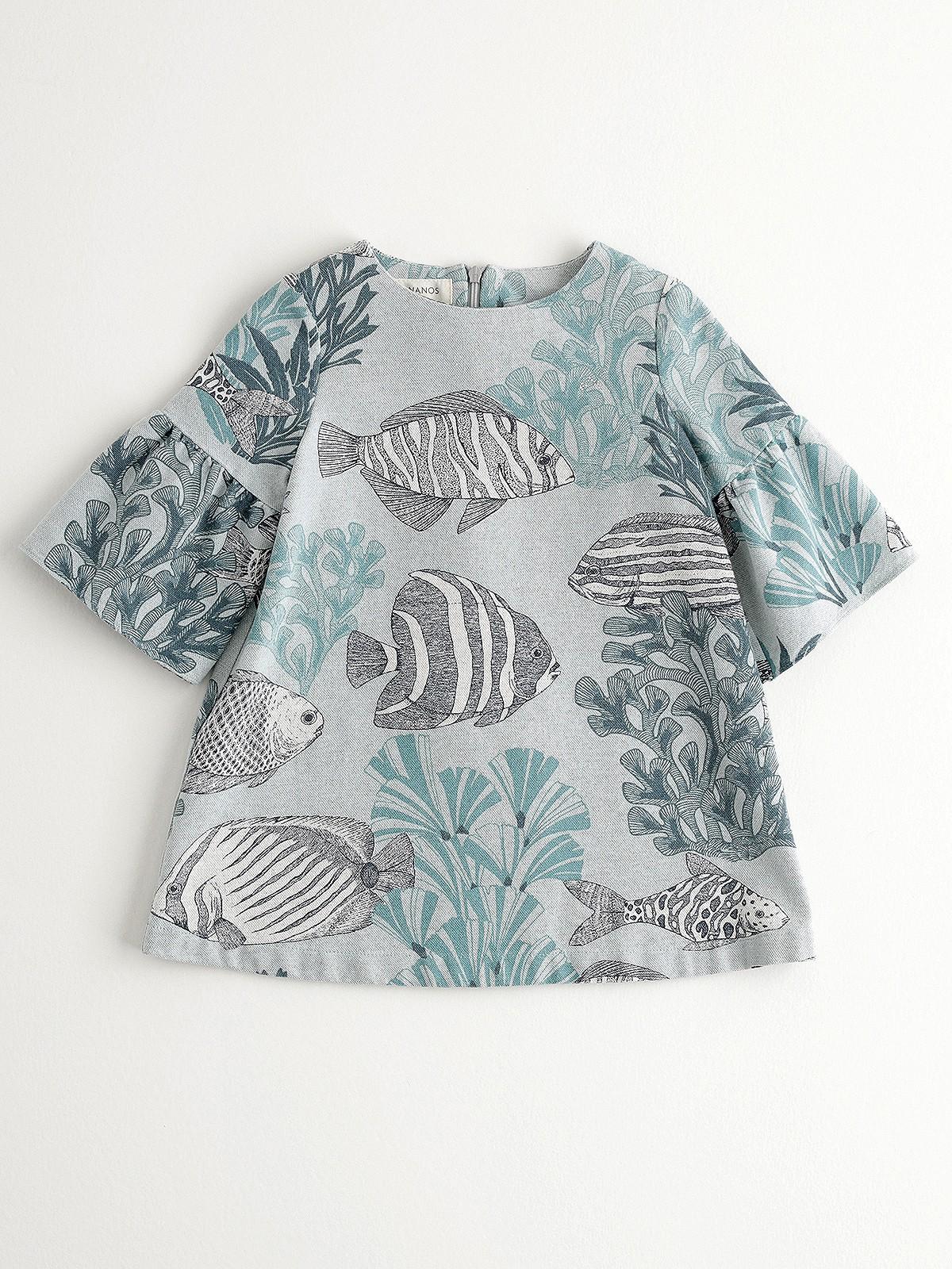 NANOS 海底風情洋裝