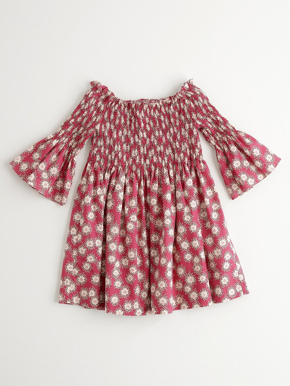NANOS 紅色水袖洋裝