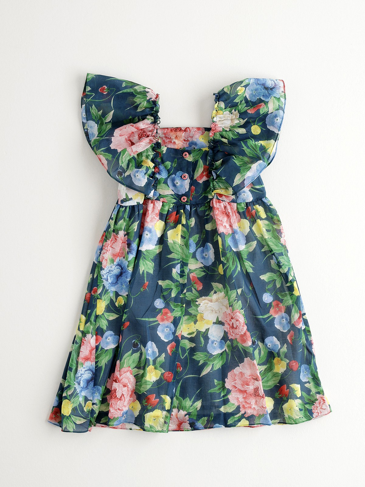 NANOS 藍色花卉洋裝