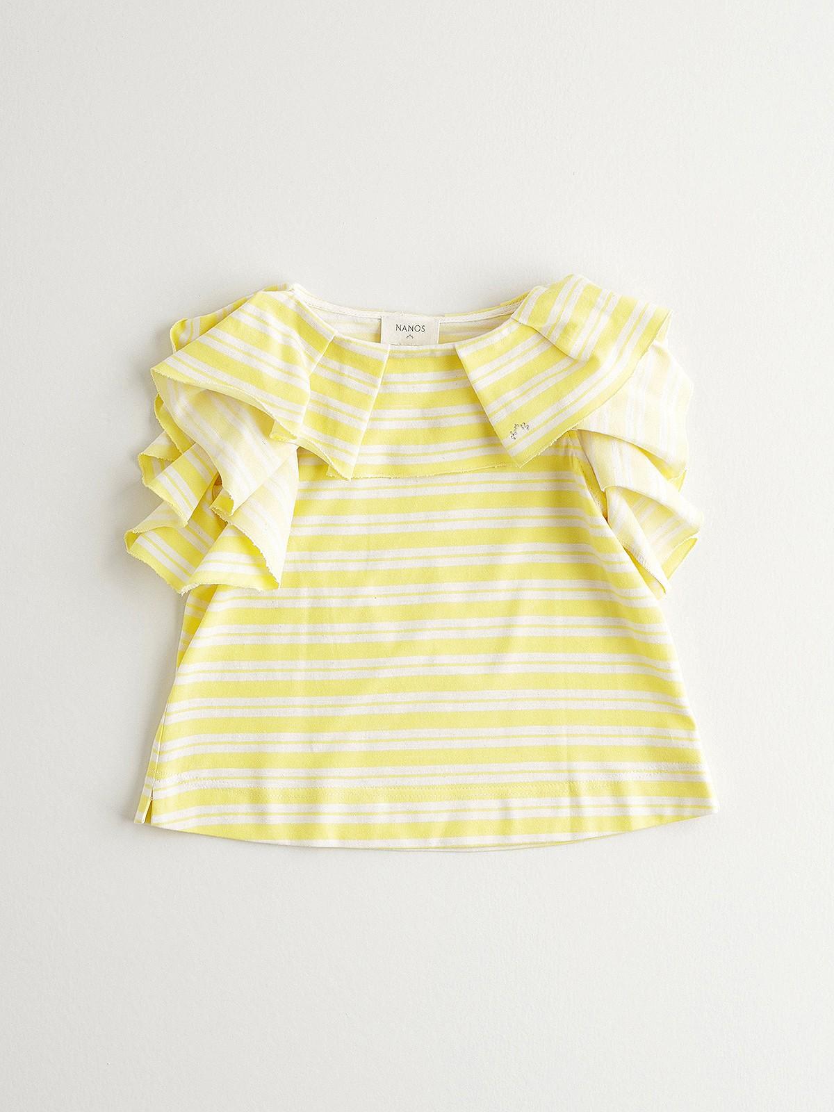 NANOS 黃色條紋上衣