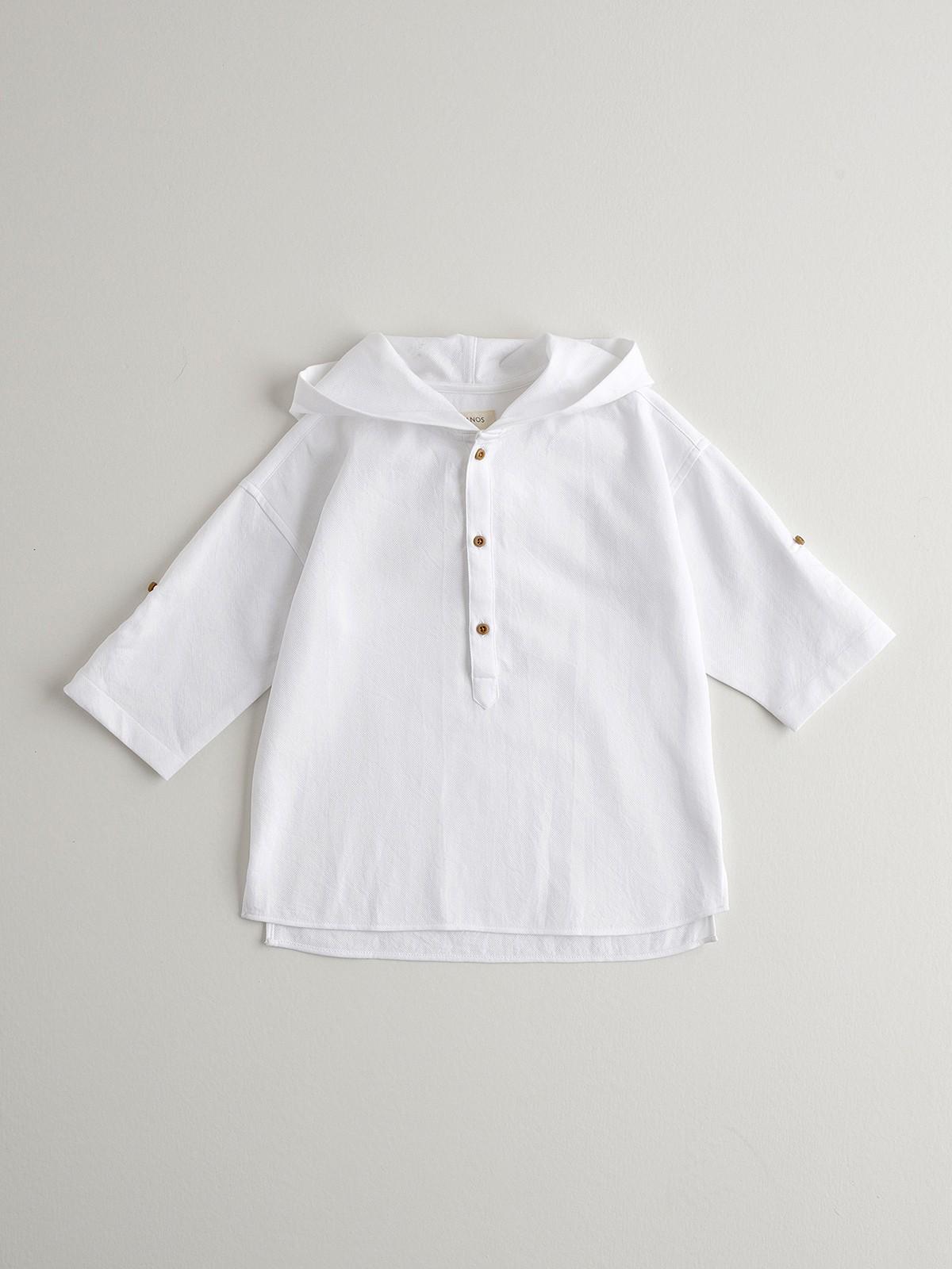 NANOS 白色罩衫