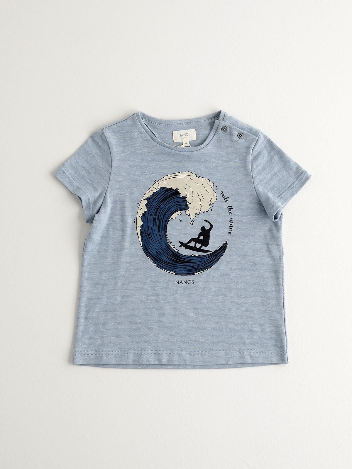 NANOS 藍色衝浪上衣