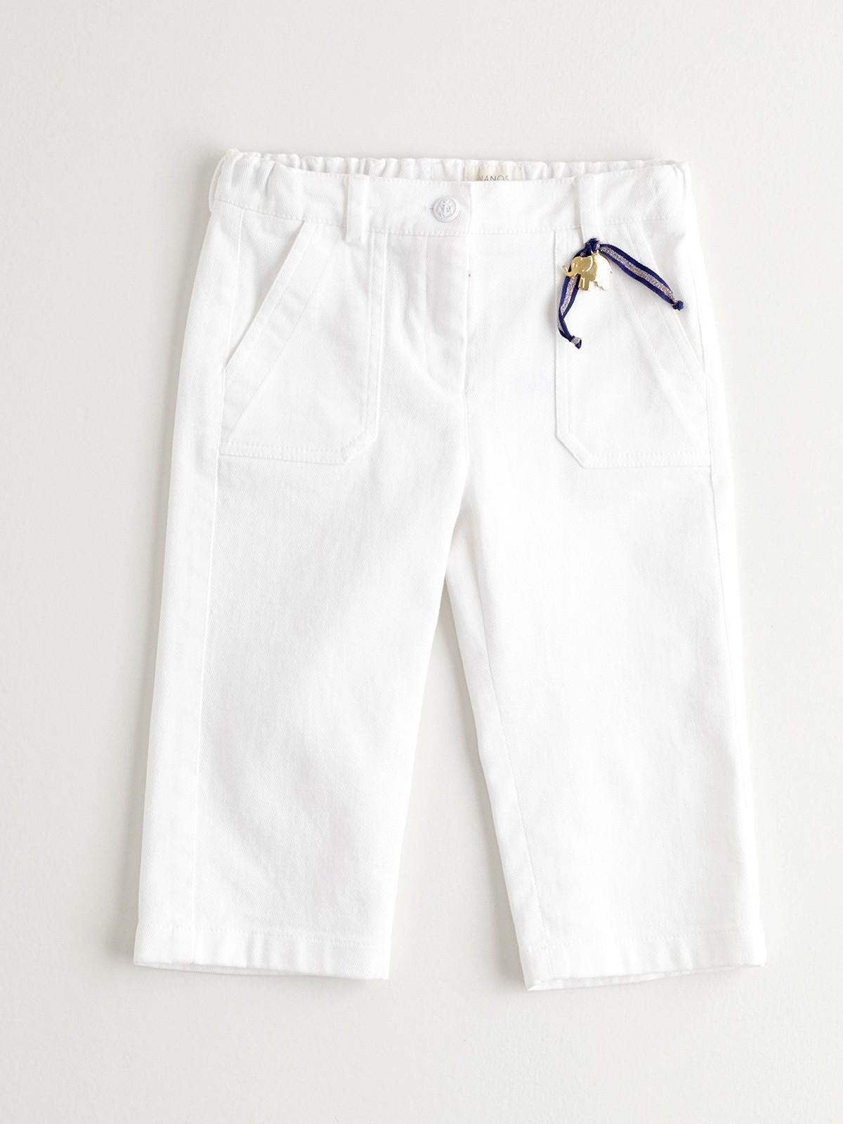 NANOS 白色寬褲