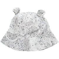 OLIVIER BABY AND KIDS LIBERTY灰色星星小熊遮陽帽