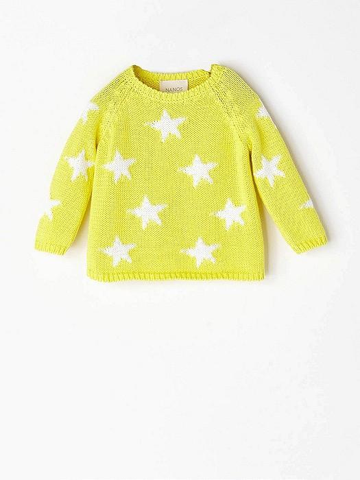 NANOS 黃色星星上衣