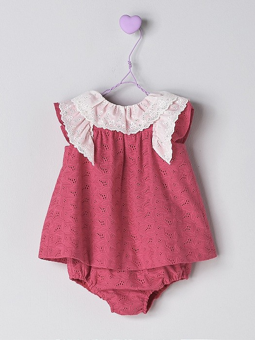 NANOS 紅色蕾絲袖套裝