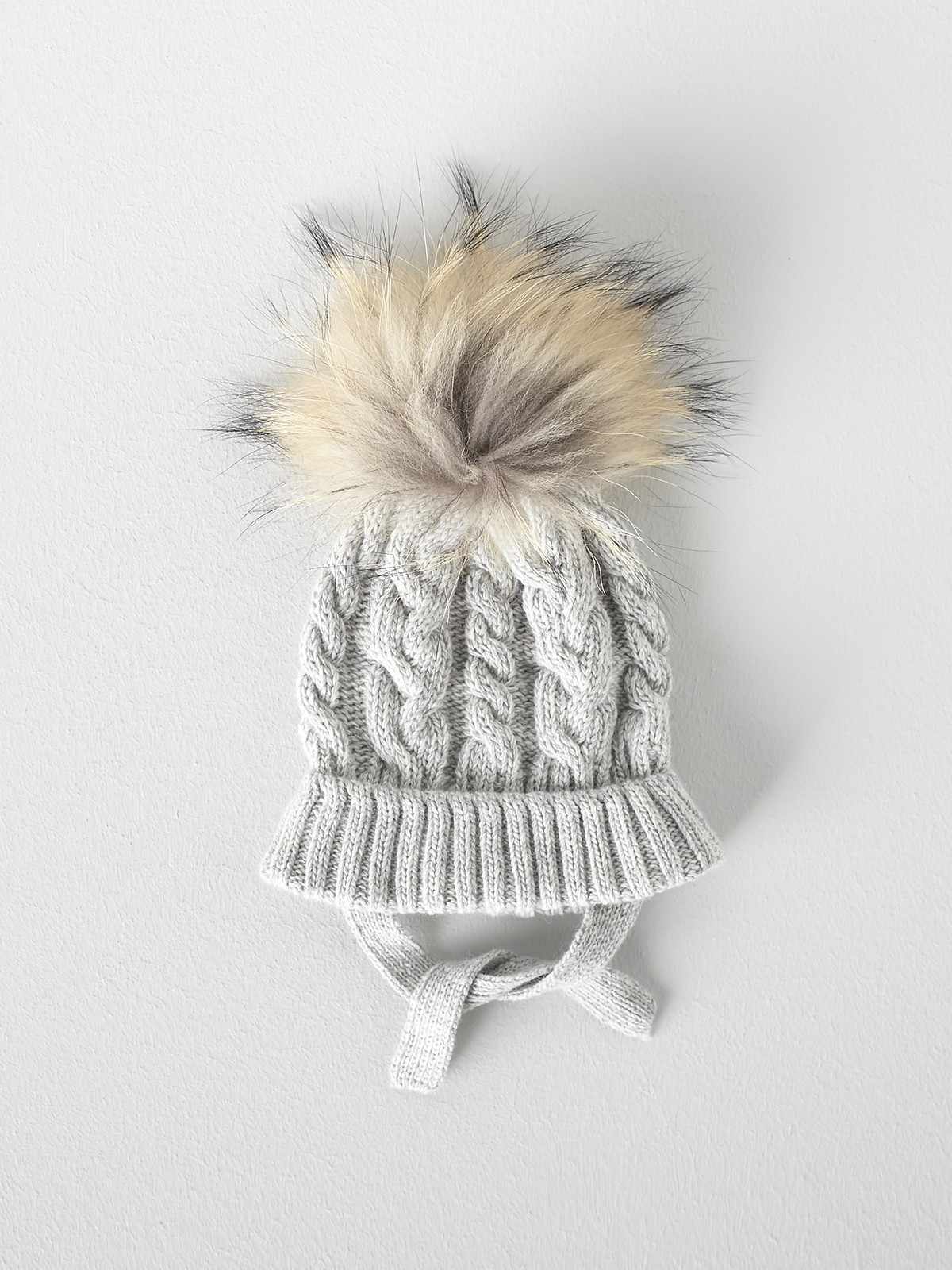 NANOS 灰色毛帽