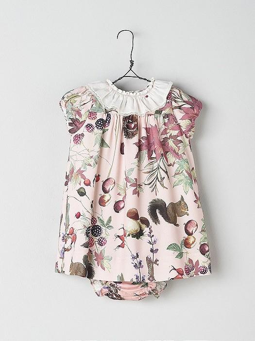 NANOS 花卉圖騰洋裝