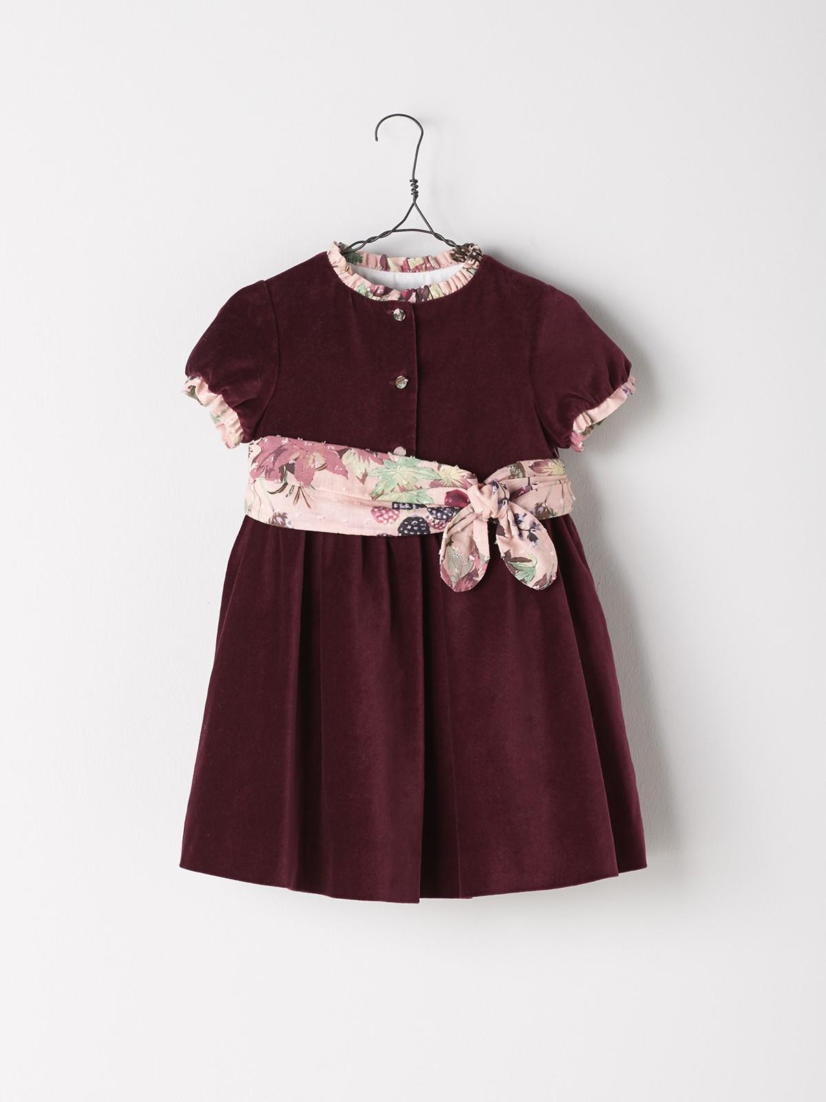 NANOS 紅色絲絨洋裝