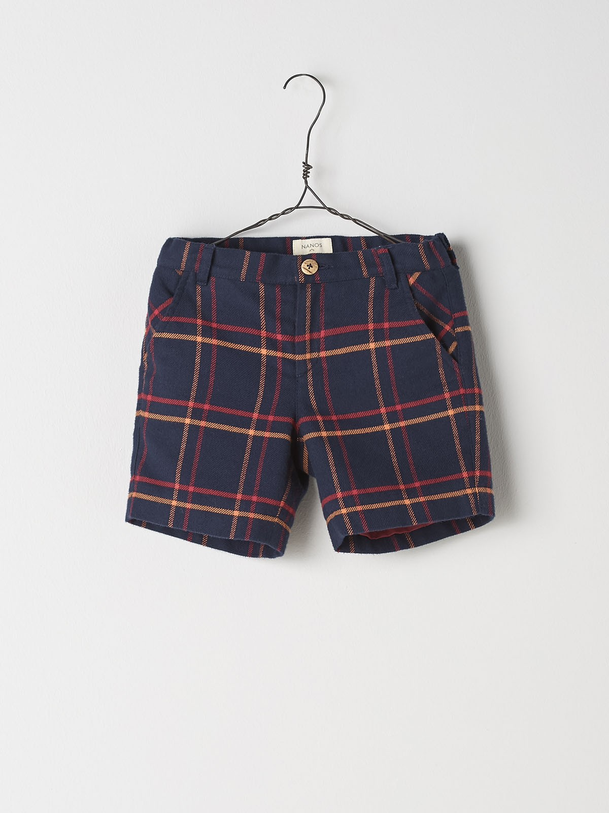 NANOS 格紋短褲
