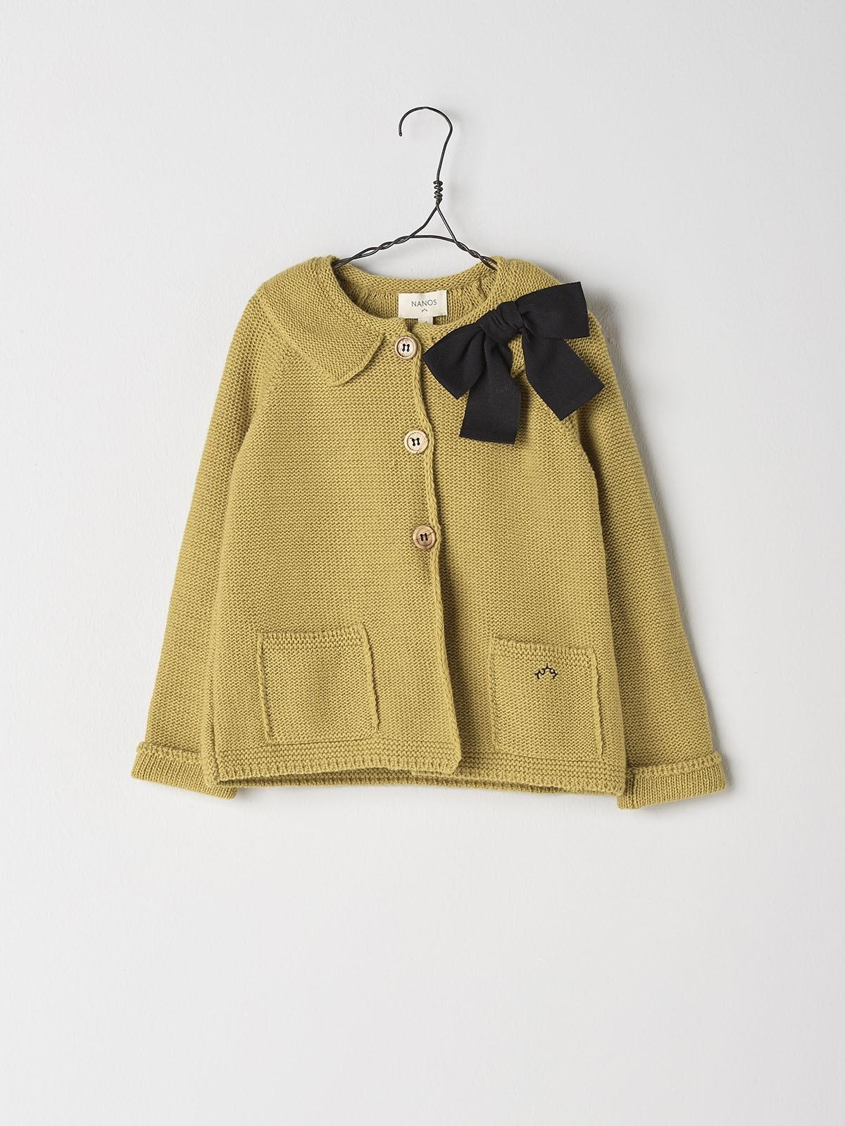 NANOS 黃色針織外套