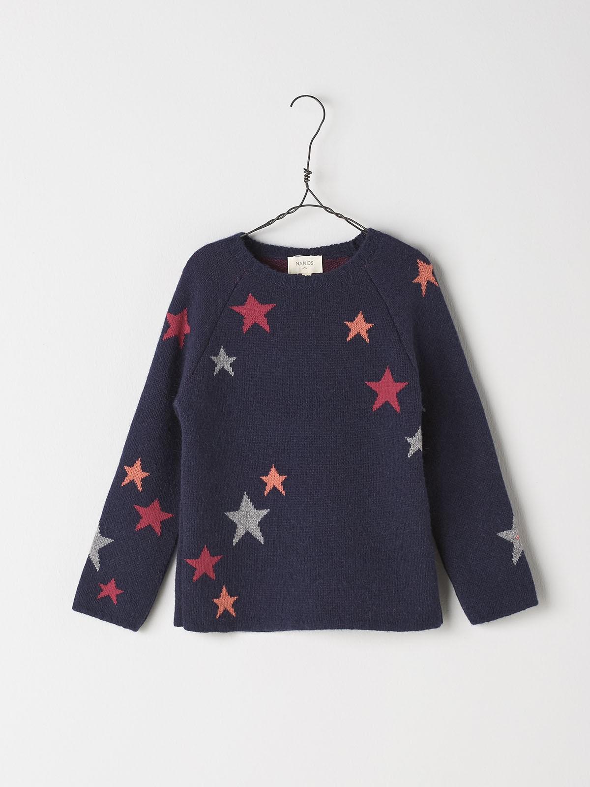 NANOS 黑色星星上衣