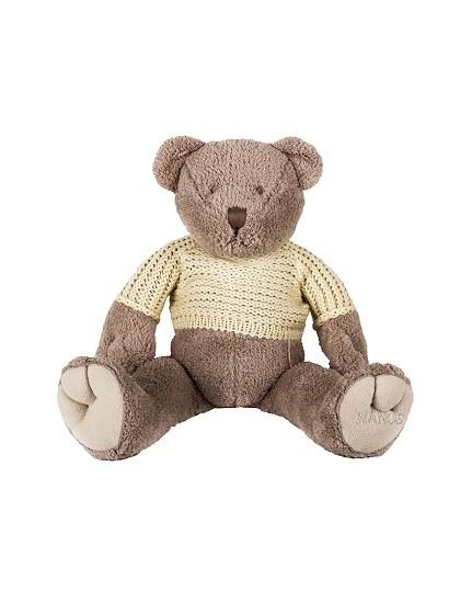 NANOS絨毛棕色泰迪熊