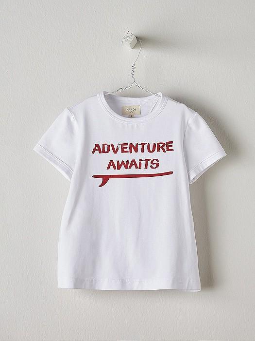 NANOS 白色冒險上衣