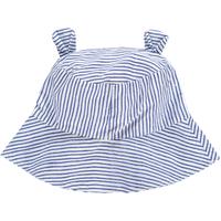 OLIVIER BABY AND KIDS LIBERTY藍條紋小熊遮陽帽
