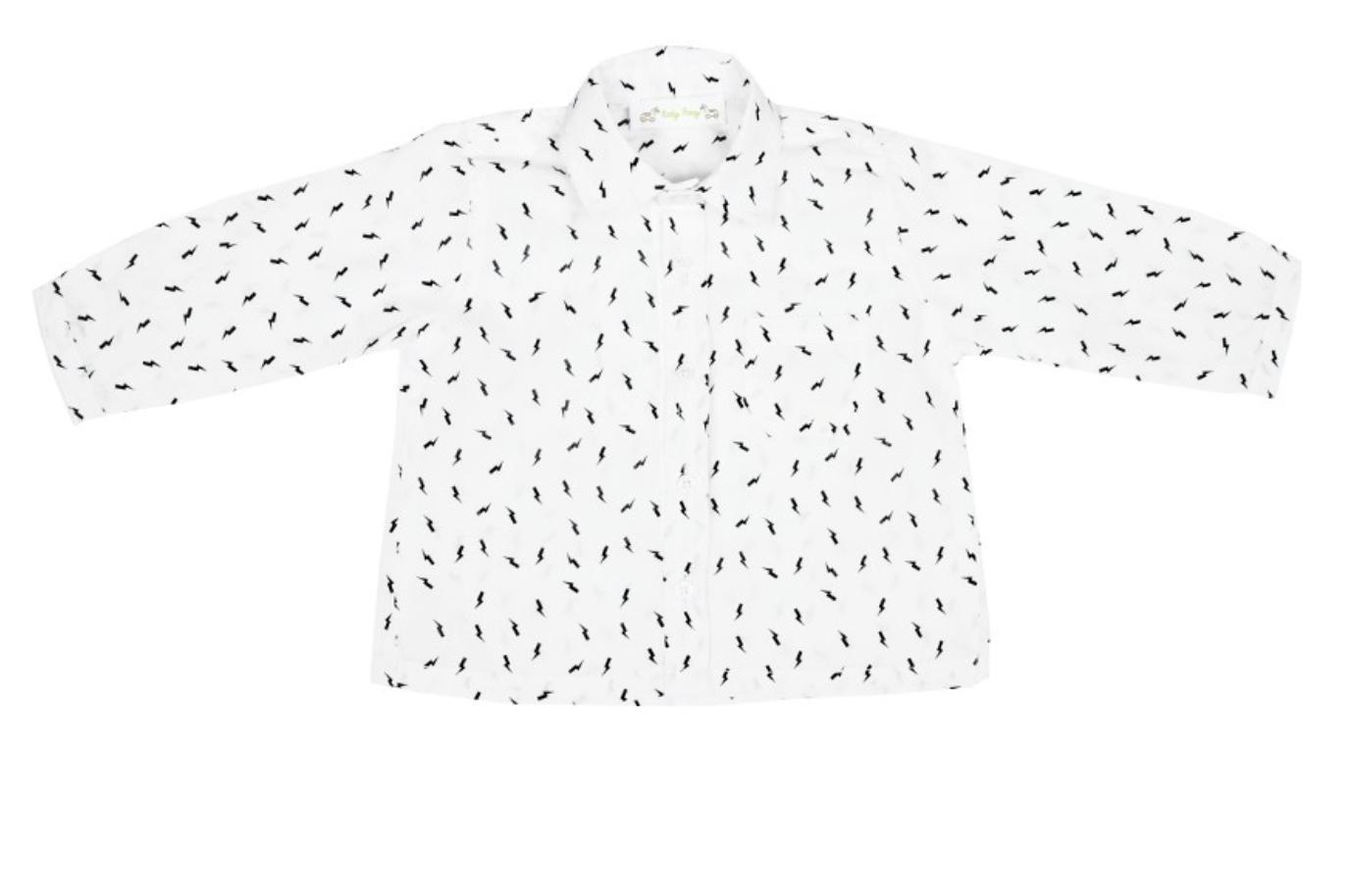 ROLY PONY白色閃電襯衫