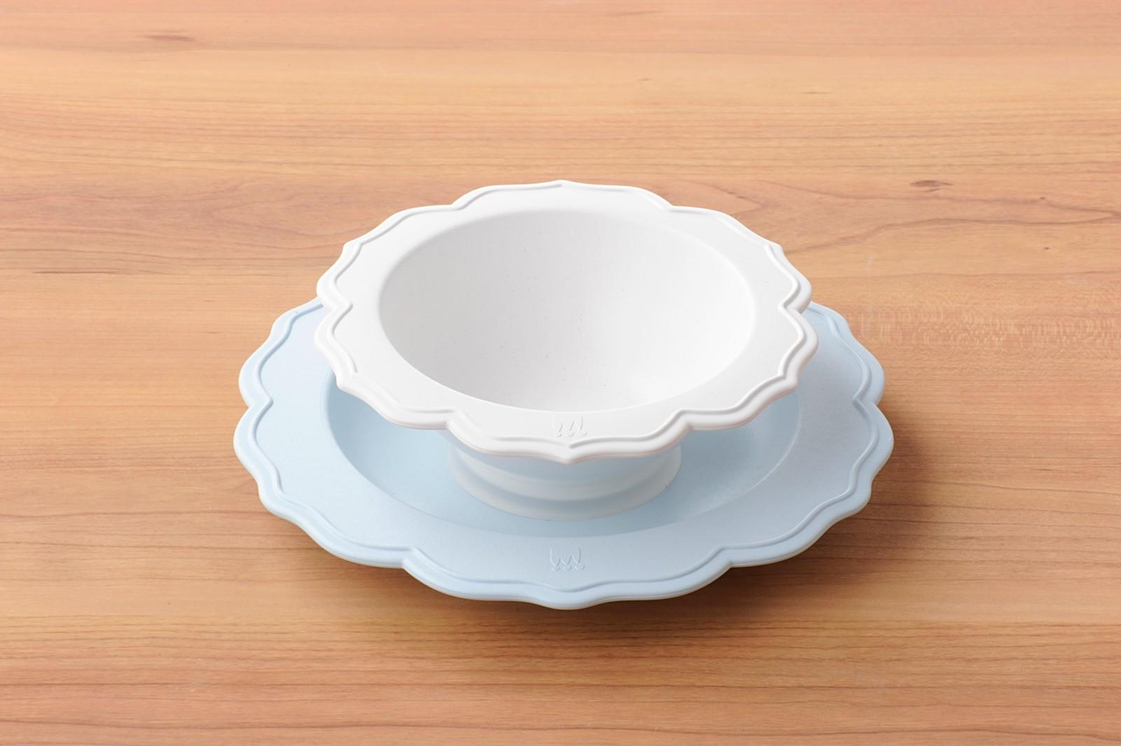 旖旎翡冷翠Reale花型碗盤-海洋中的野餐日