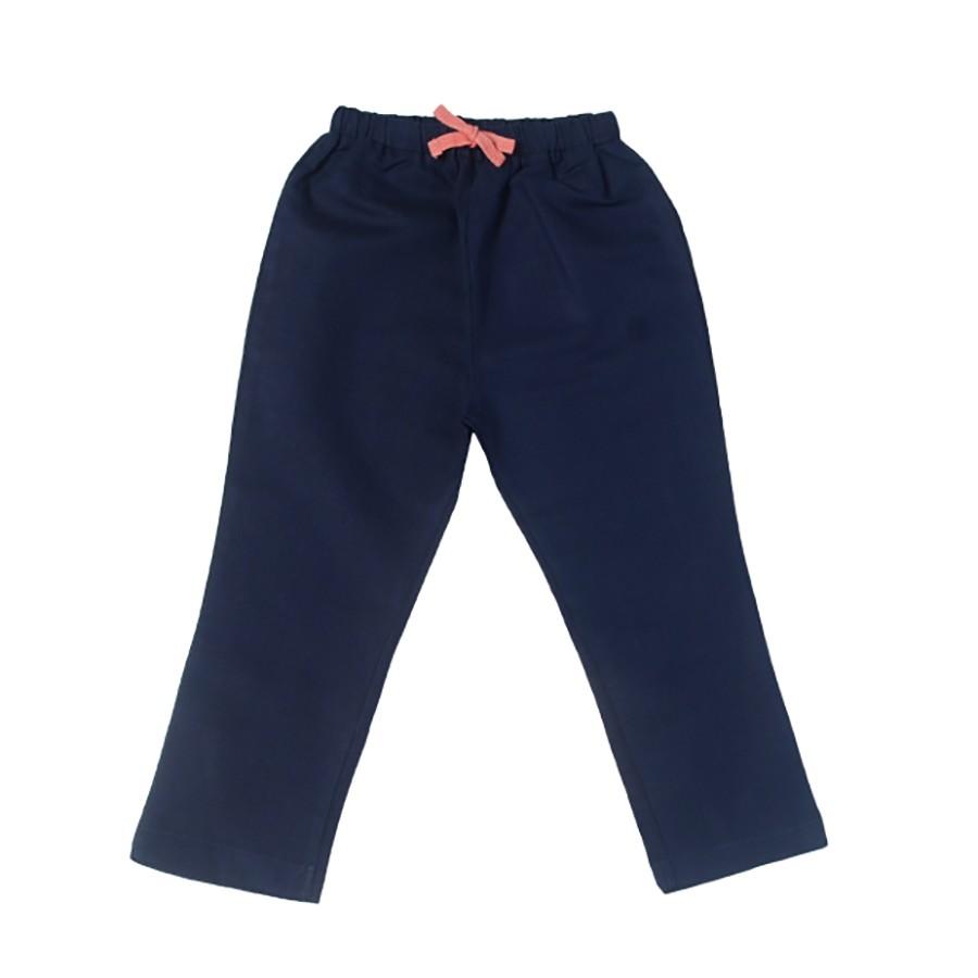 ROLY PONY 海軍藍棉麻長褲