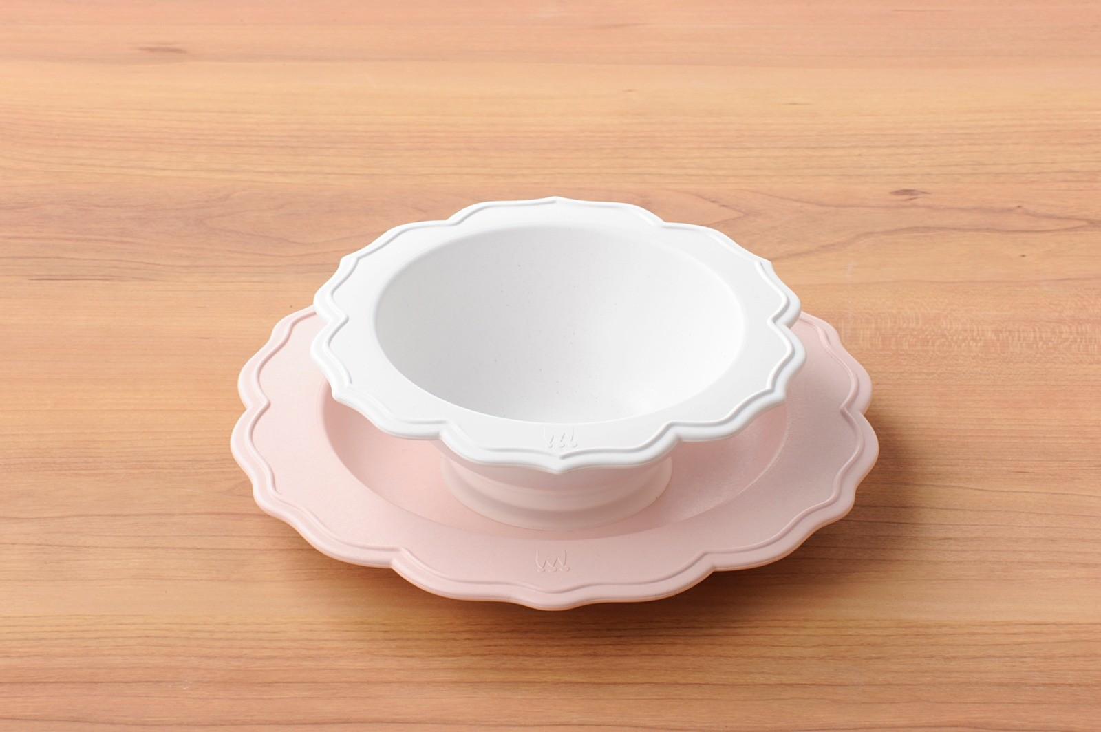 旖旎翡冷翠Reale花型碗盤-餐桌上的小野莓