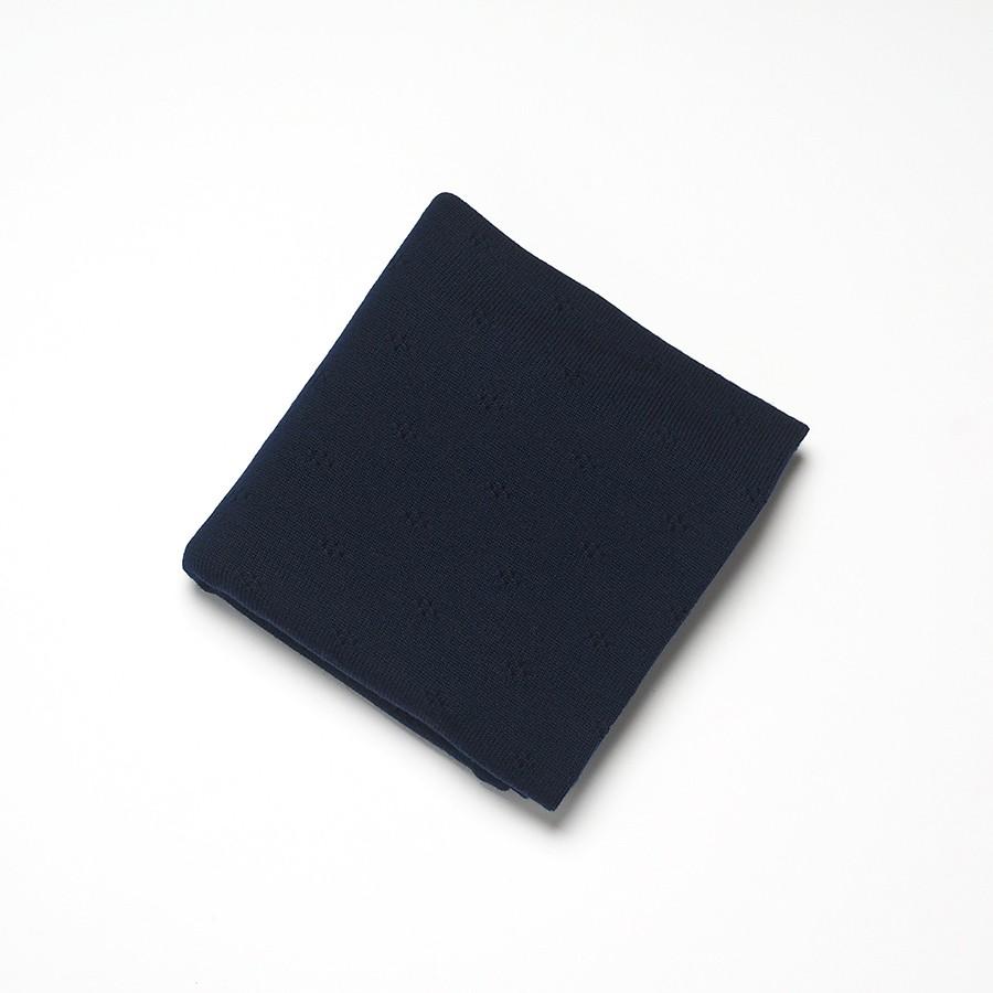 Roly Pony 藍色美麗諾羊毛毯