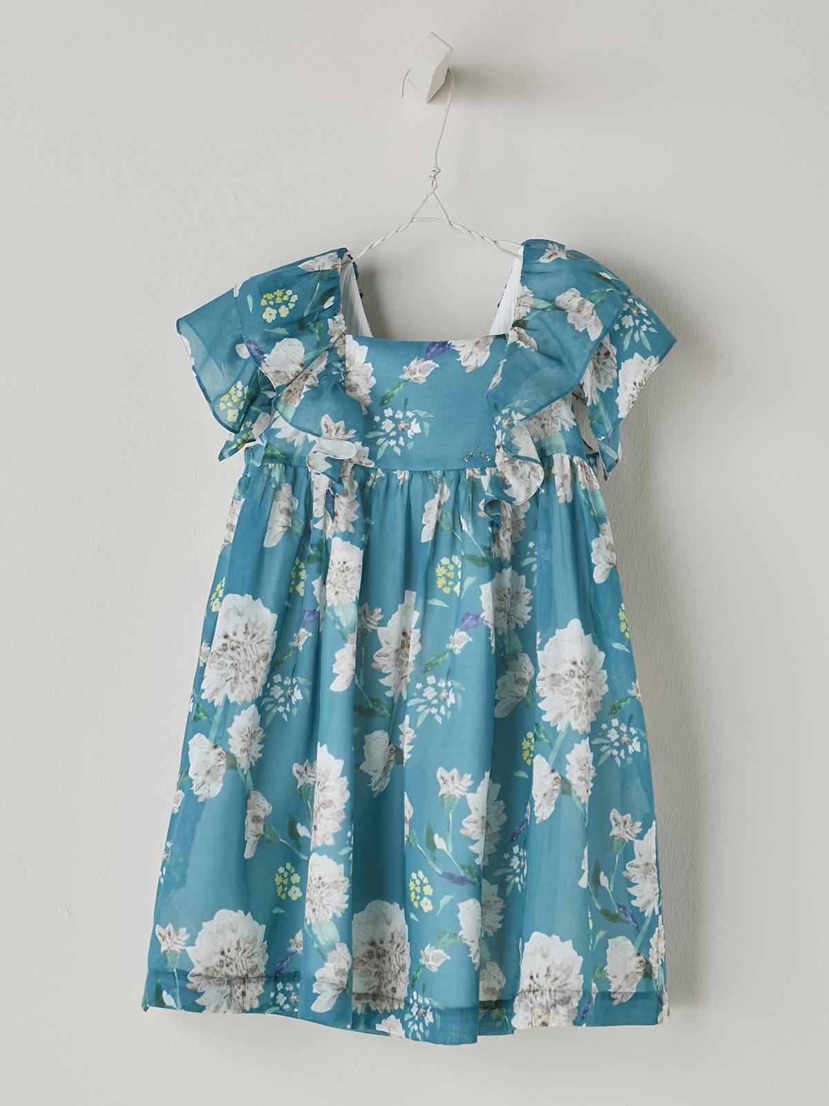 NANOS 藍色花朵洋裝