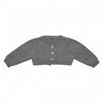 MILE BEBE 灰色針織短外套