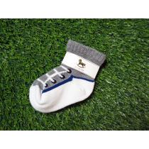 BLANCHE-帆布鞋造型襪子
