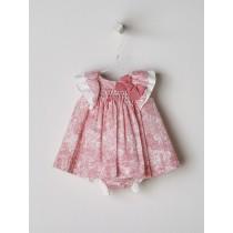 NANOS 粉色提花套裝