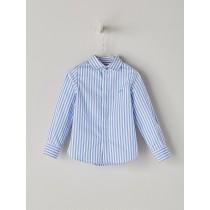 NANOS 淺藍條紋襯衫