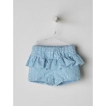 NANOS 淺綠條紋短褲