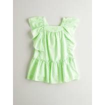 NANOS 青蘋果綠洋裝