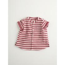 NANOS 紅色條紋短袖上衣-BABY