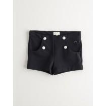 NANOS 黑色復古短褲