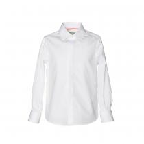 NANOS 經典白色紳士襯衫