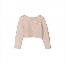 NANOS 淺粉色針織薄外套