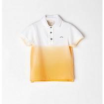 NANOS 經典黃色漸層POLO衫
