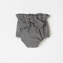 NANOS 蝴蝶結格紋短褲