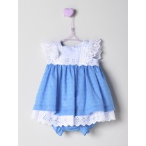 NANOS 藍色蕾絲袖套裝