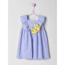 NANOS 藍色條紋洋裝