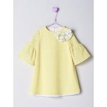 NANOS 黃色水袖洋裝
