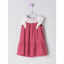 NANOS 紅色蕾絲洋裝