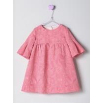 NANOS 粉色水袖洋裝