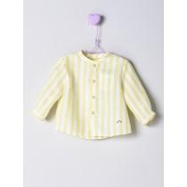 NANOS 黃色條紋襯衫