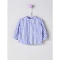 NANOS 藍色條紋襯衫