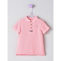 NANOS 粉色POLO衫